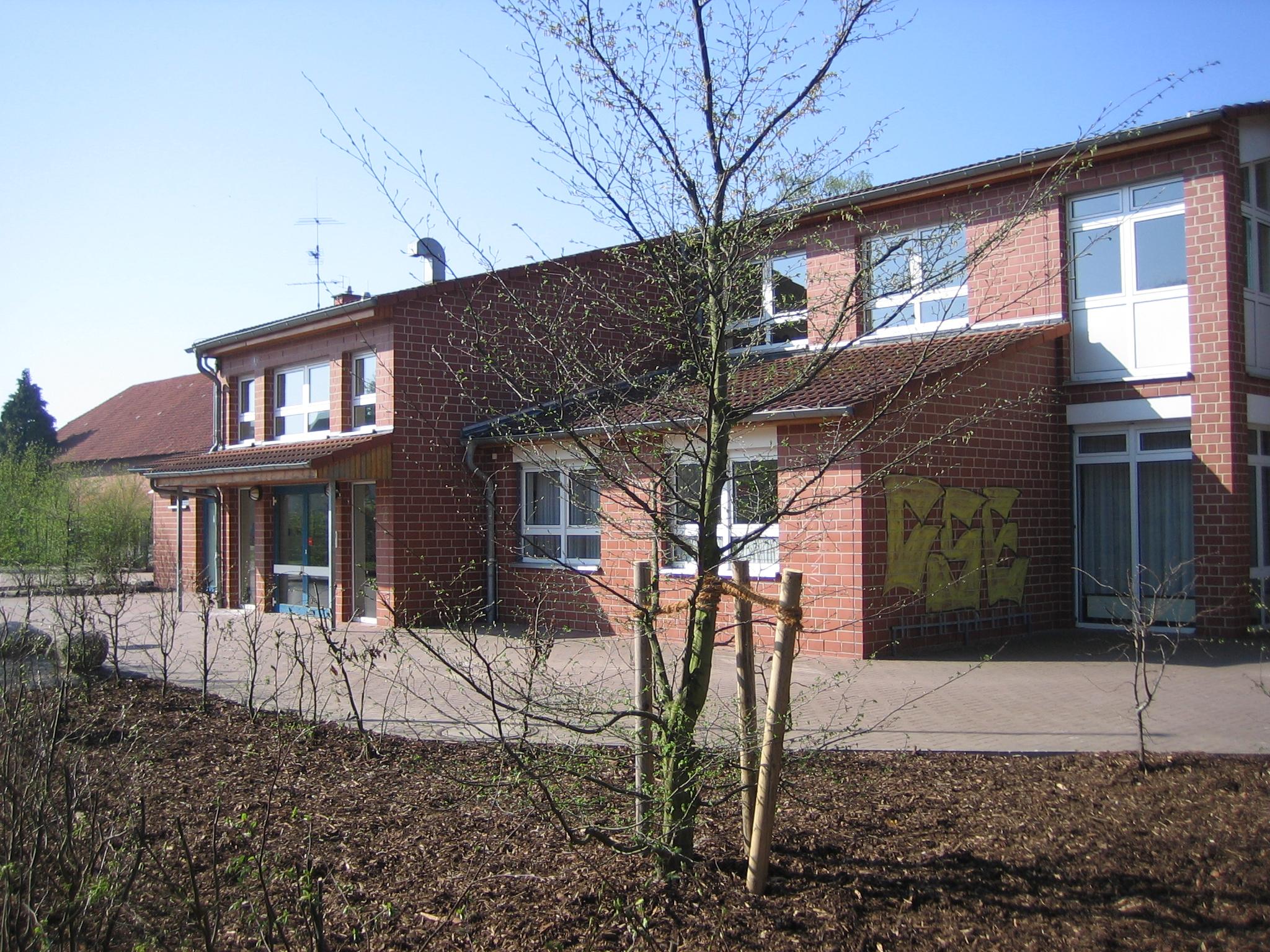 Die neue Grundschule 2009 - erbaut 1995