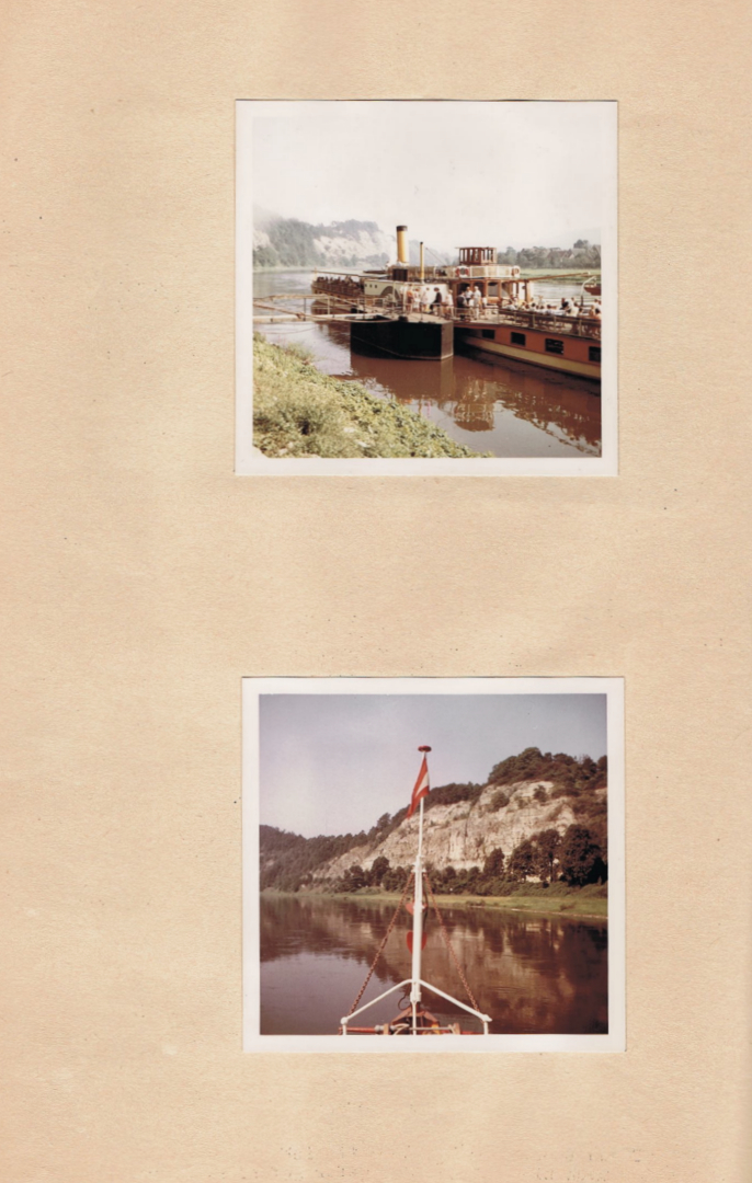 Weserfahrt 1961 Fotos